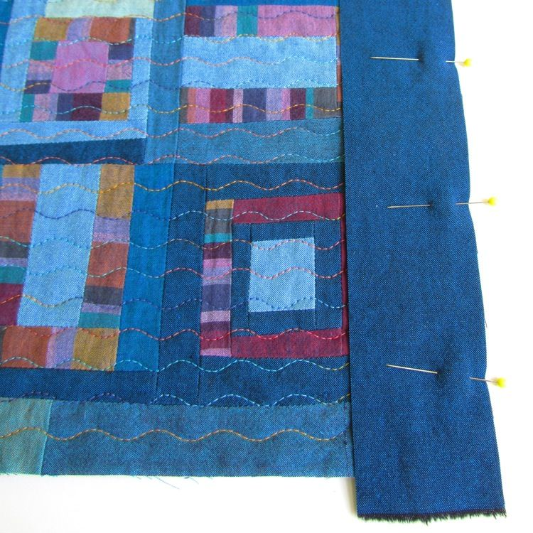 The Silly BooDilly: Tutorial: Super-Duper Easy Way to Face a Quilt ... : easiest way to bind a quilt - Adamdwight.com