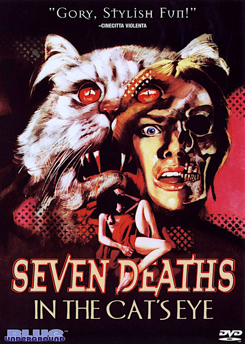 seven deaths in the cats eye dvd horror dvds horror