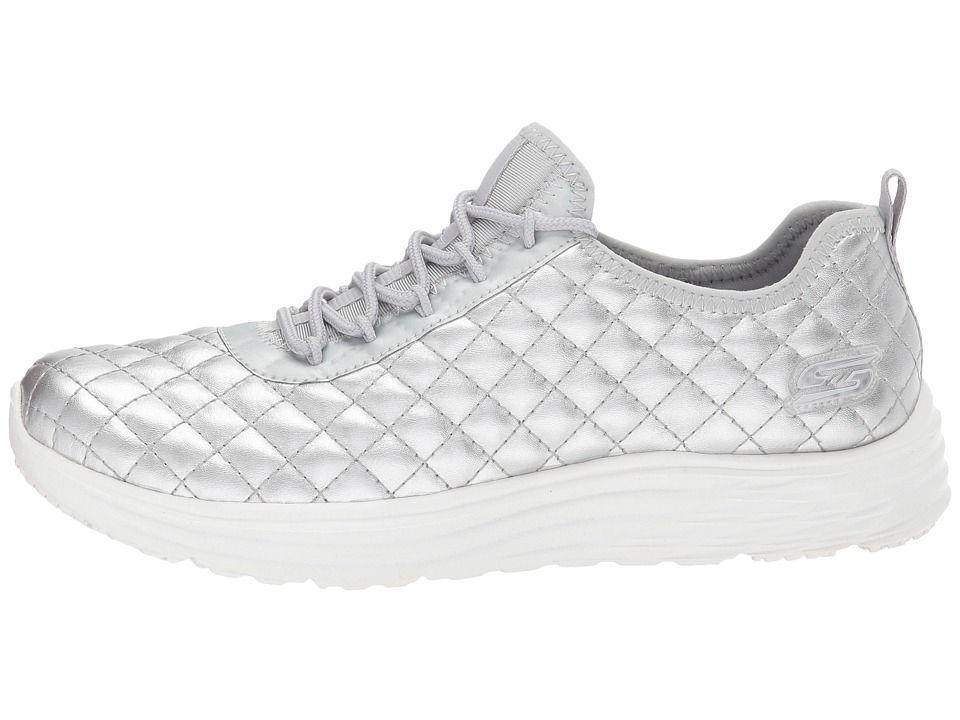 02219fe279c0 BOBS from SKECHERS Bobs Swift - Social Hustle Women s Shoes Silver ...