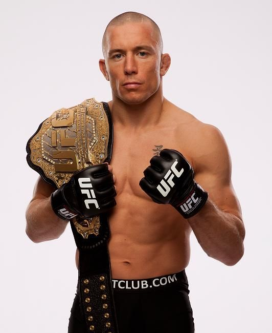 gsp ill be the beckham of mma