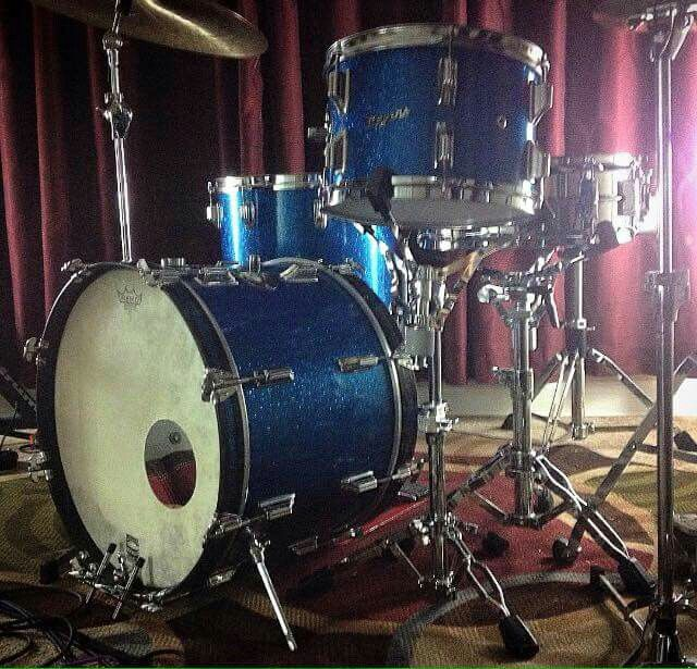 Rogers Holiday 60's blue sparkle