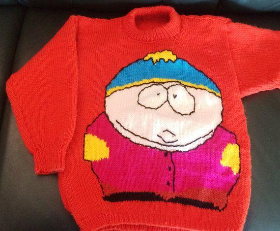 Cartman Jumper Pattern by KraftyKiwis on Etsy