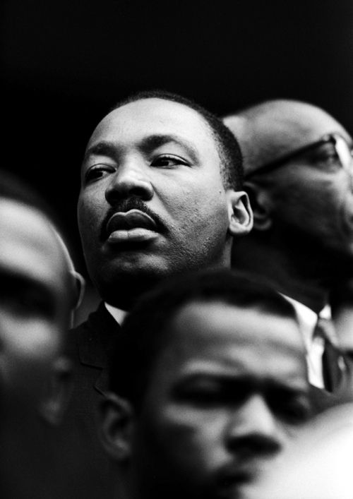 Martin Luther King Jr. – Selma March, 1965 (Photo Courtesy of Steve Schapiro)