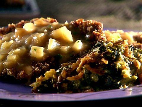 Chicken Fried Steak With Gravy Video Food Network Foodnetwork