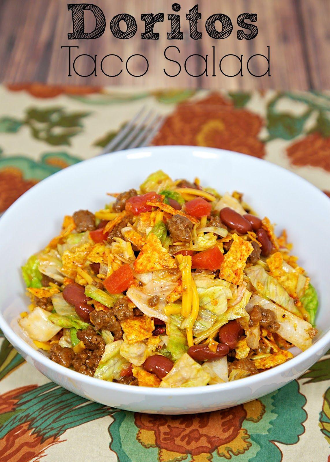 Doritos Taco Salad - Plain Chicken