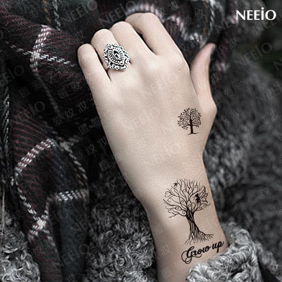 Family Tattoo Ideas Buscar Con Google: Tatuajes De Arboles Para Mujeres Pequeños