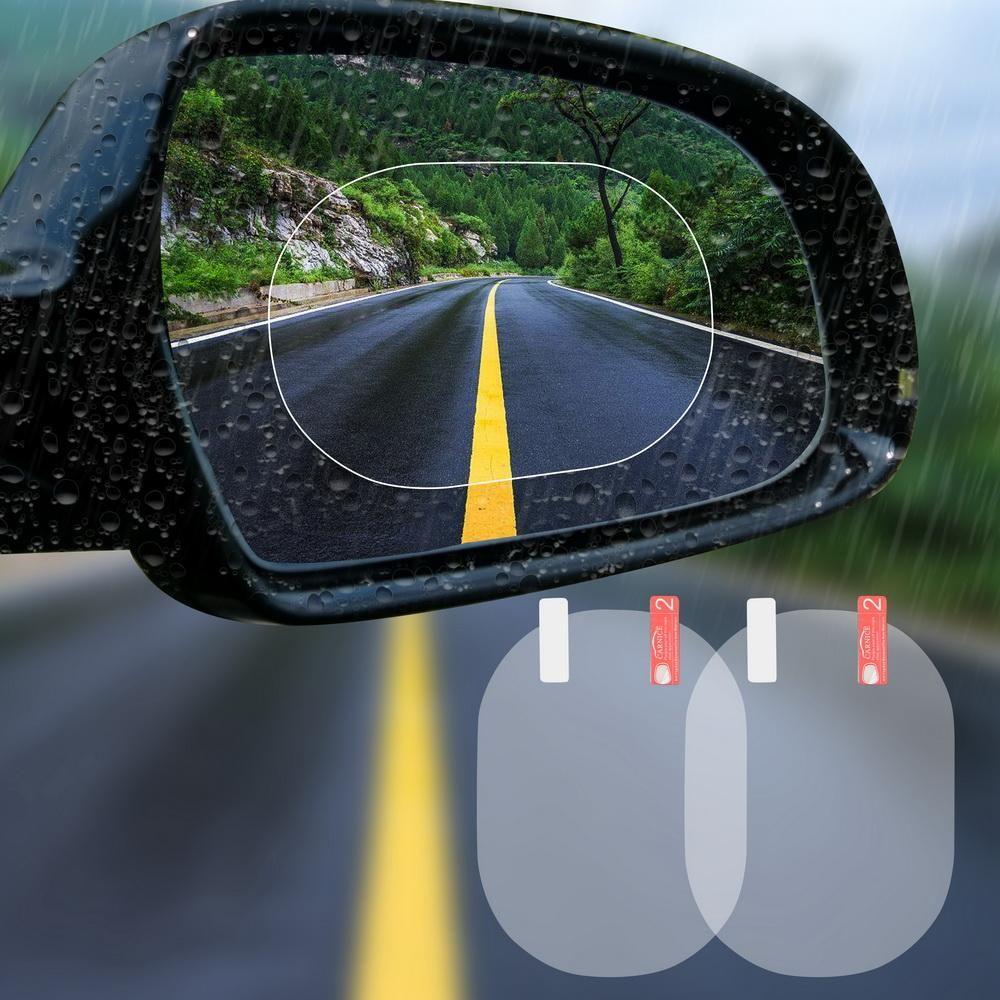 Car Rearview Mirror Protective Film 2pcs Car Rear View Mirror Rear View Mirror Car Mirror