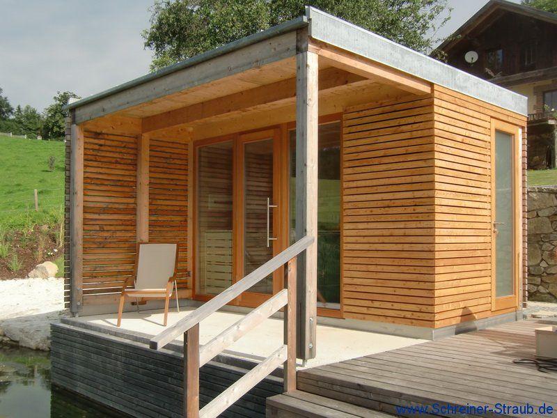 Garten-sauna | Sauna & Ko | Pinterest | Saunas Blockbohlenhaus Im Garten Funktional Ausenbereich