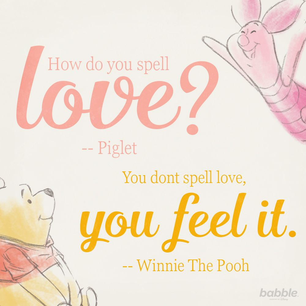Love Spell Quotes 14 Swoonworthy Disney Love Quotes  Piglets Disney Quotes And
