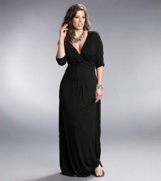 black shirt dresses plus sizes | Home » Plus Size Desert Rain Maxi ...
