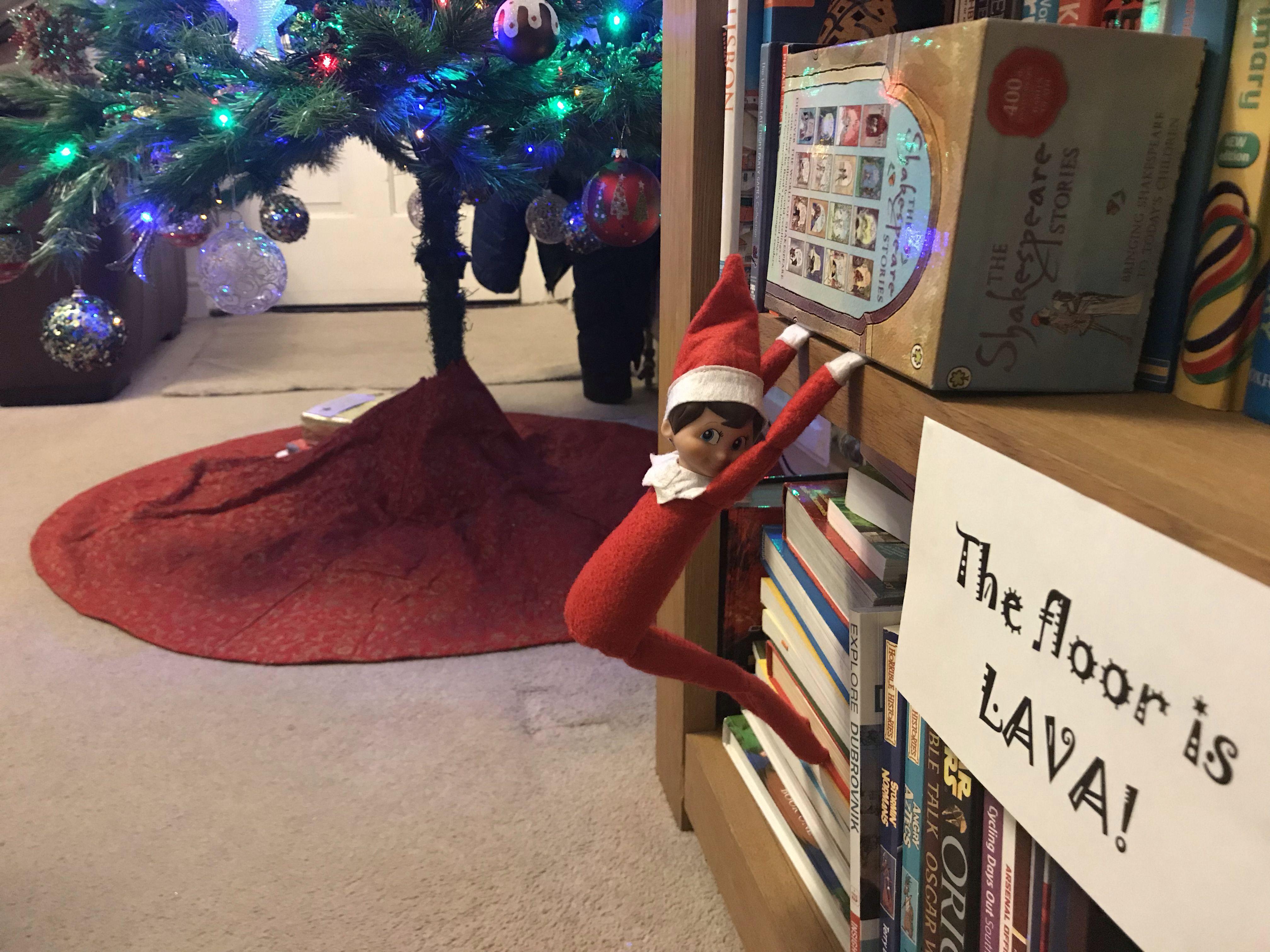 Pin By Marissa Anders On Steve S Elf On The Shelf Christmas Elf Naughty Elf Elf
