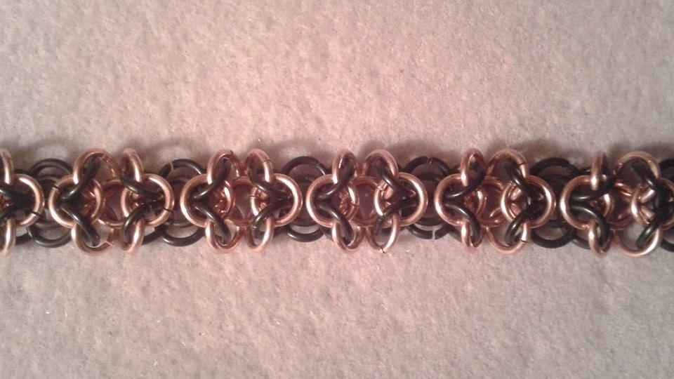 Basket Weave Chainmaille Tutorial : Orc weave gallery maillers worldwide chainmaille