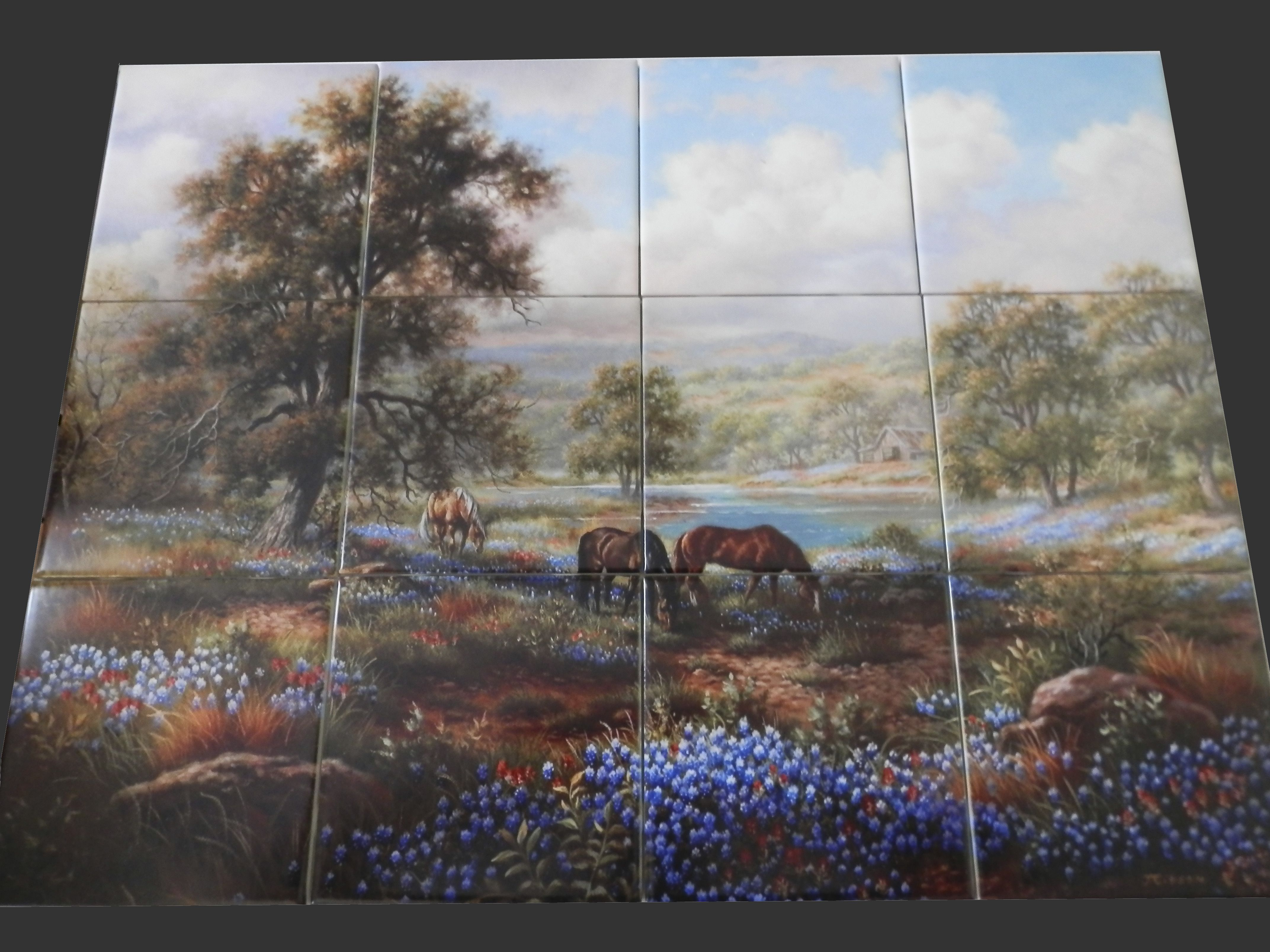 Kitchen Tile Uk 17 Best Images About Roosters Hens Farm Yard Tile Murals On