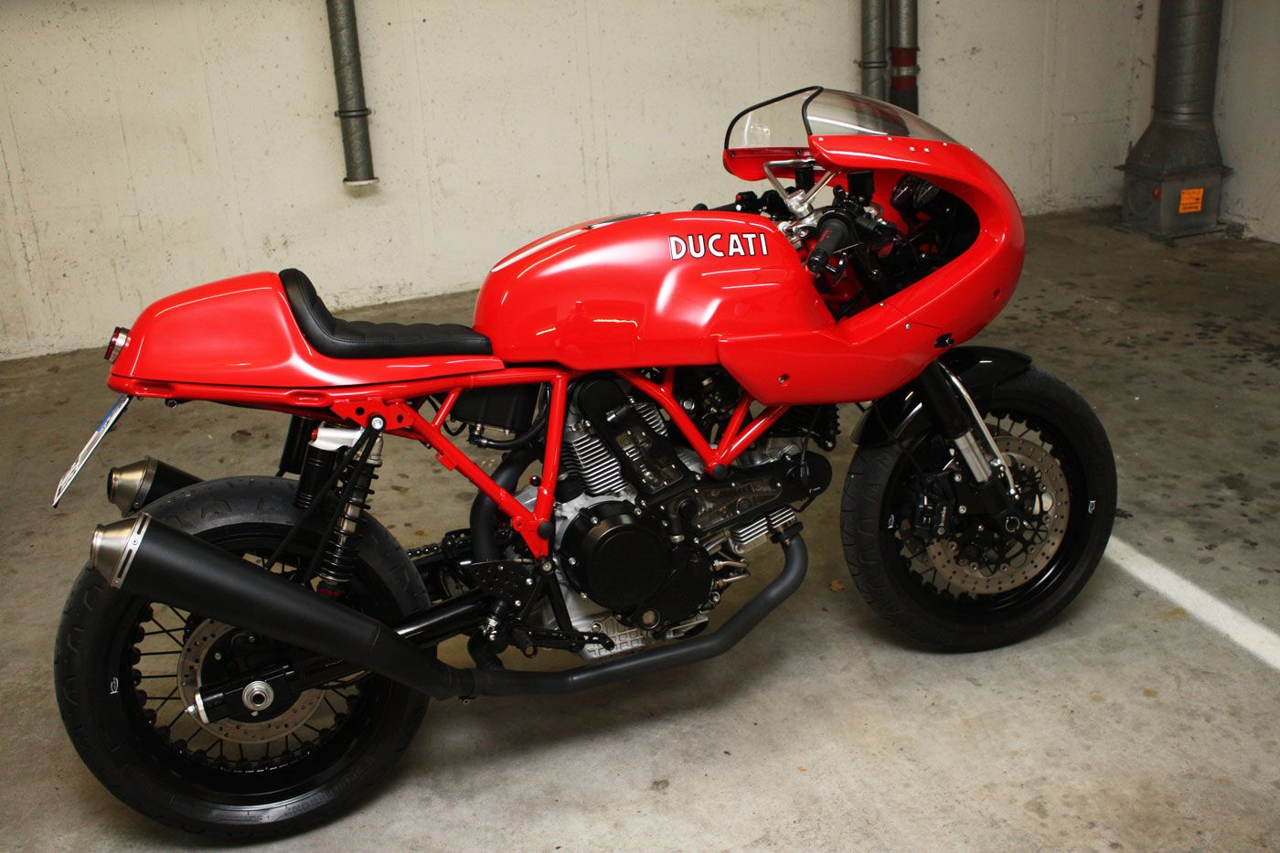 Ducati Sport 1000s Caferacer | triumphbikes.de | BMW • Ducati • KTM • Triumph • Buell • Yamaha • Honda • Malaguti