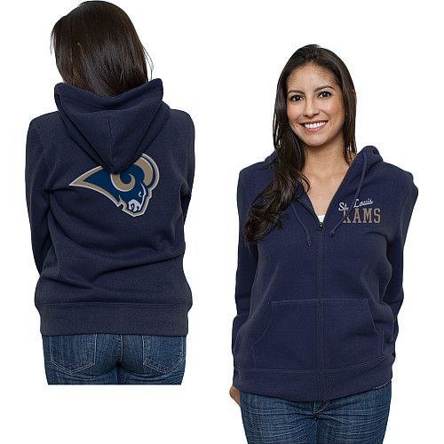 St. Louis Rams Game Day Full Zip Hooded Sweatshirt. My husband Sam Bradford plays for them!