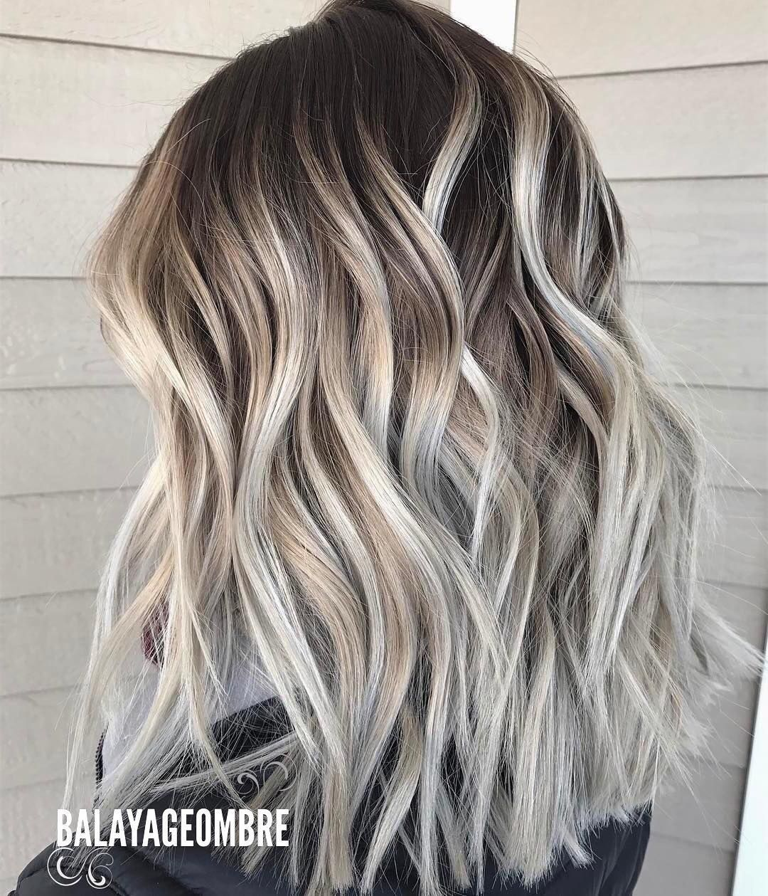 10 Best Medium Layered Hairstyles 2018 Brown Ash Blonde Fashion