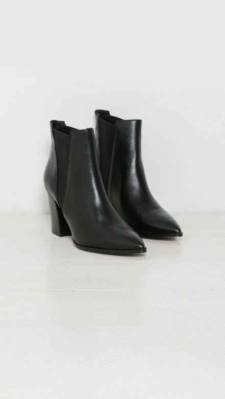 f6af62da Tempo Boots by Intentionally Blank Botas Con Tacón, Estrellas Fugaces,  Bailarín, Escritor,
