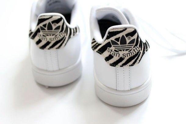 Adidas Stan Smith Zebra Print