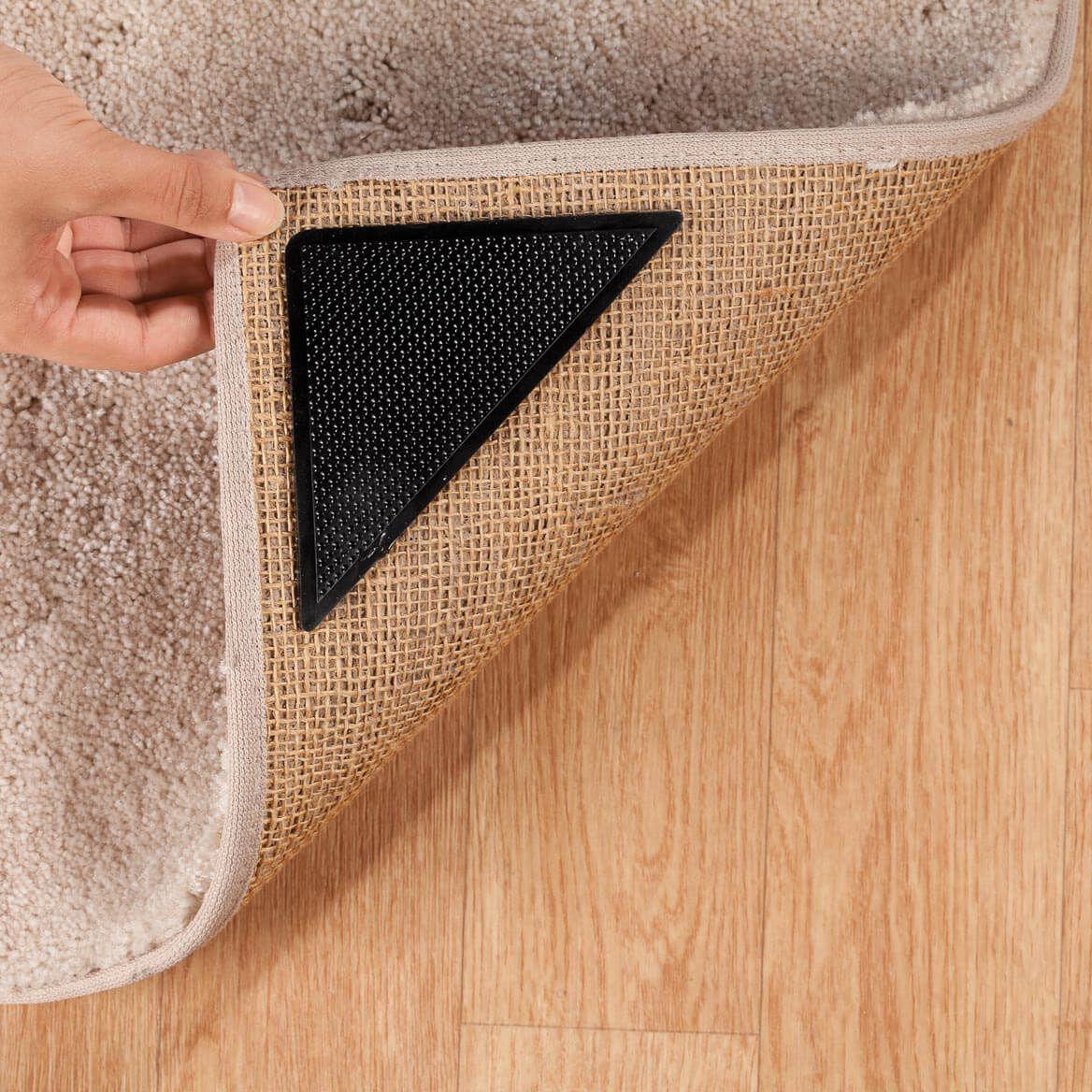 Corner Rug Grips Set Of 8 In 2020 Rugs Carpet Corner Carpet