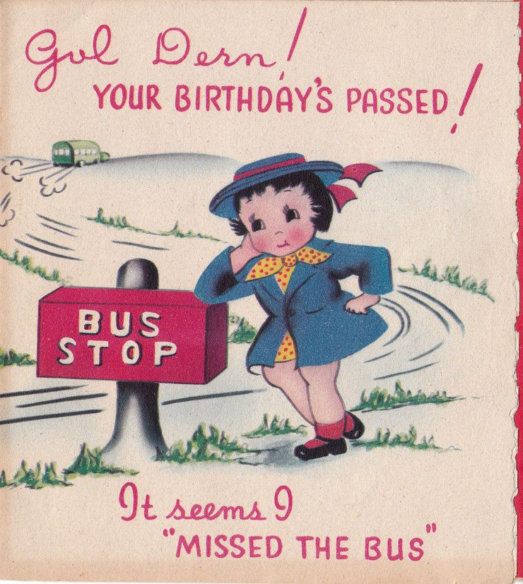 Pin By Ruth Bradt On Vintage Greeting Cards Old Birthday Cards Happy Birthday Vintage Vintage Birthday