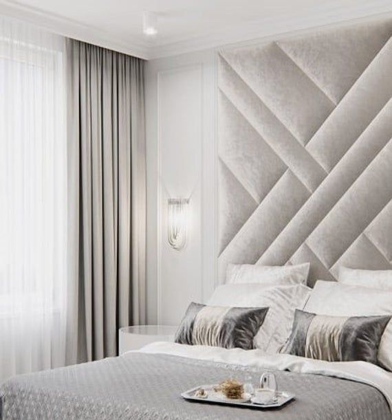 Upholstered Wall Panels Set Sizes From 150x240cm Up To 300x240cm