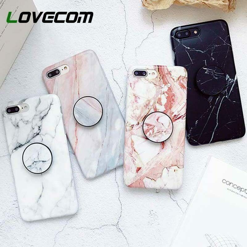 super popular 1a599 aaba8 New Marble Case With Pop Up Holder Phone For Samsung Note 8 Note 9 ...