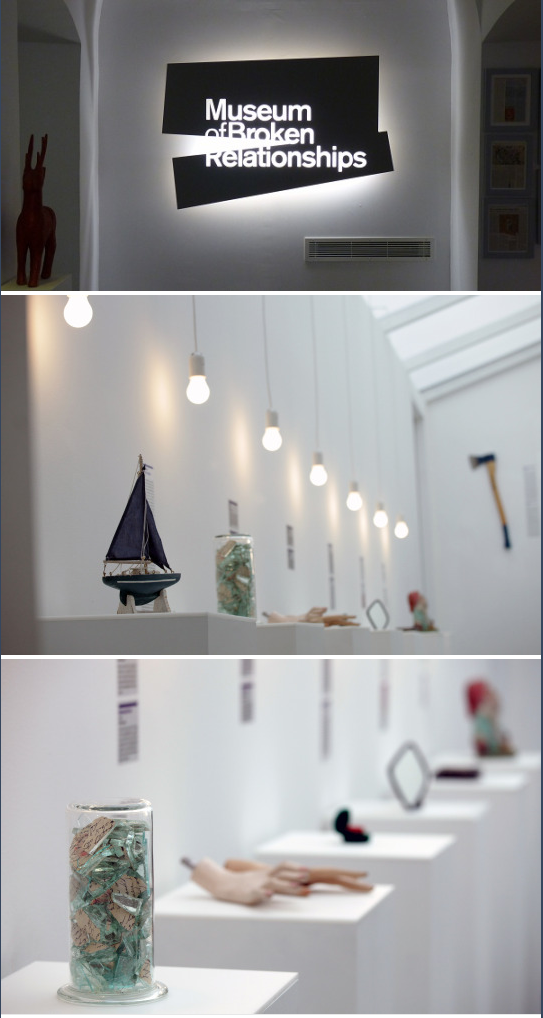 The Museum Of Broken Relationships Is A Museum In Zagreb Croatia Dedicated To Failed Love Relationships Its Exhi Exhibition Display Museum Exhibition Museum