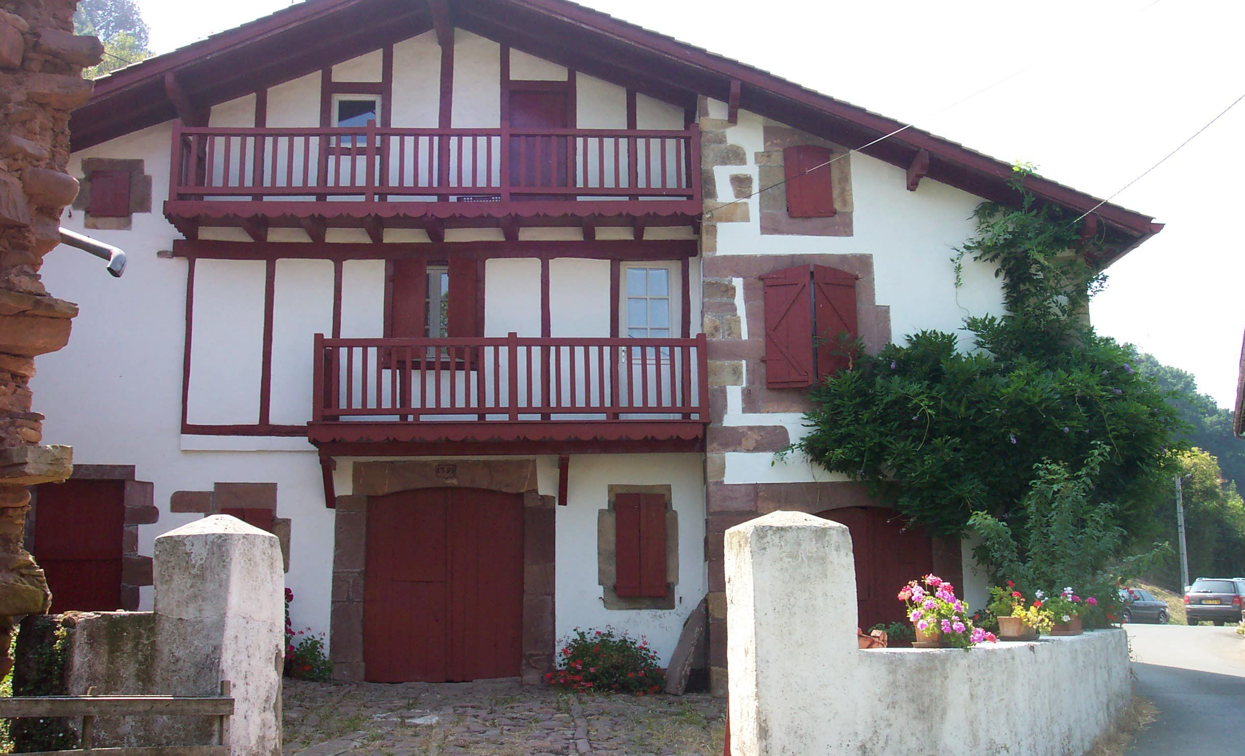 french basque house Maisons Pinterest