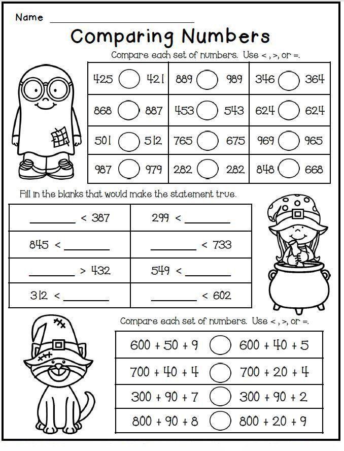 Second Grade Math Coloring Worksheets 2nd Grade Math Worksheets Best Coloring Pages For Kids In 2020 Math Worksheets 2nd Grade Math 2nd Grade Math Worksheets