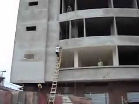 How to deliver sand to the 4th floor when your ladder hardly reaches the 3rd floor