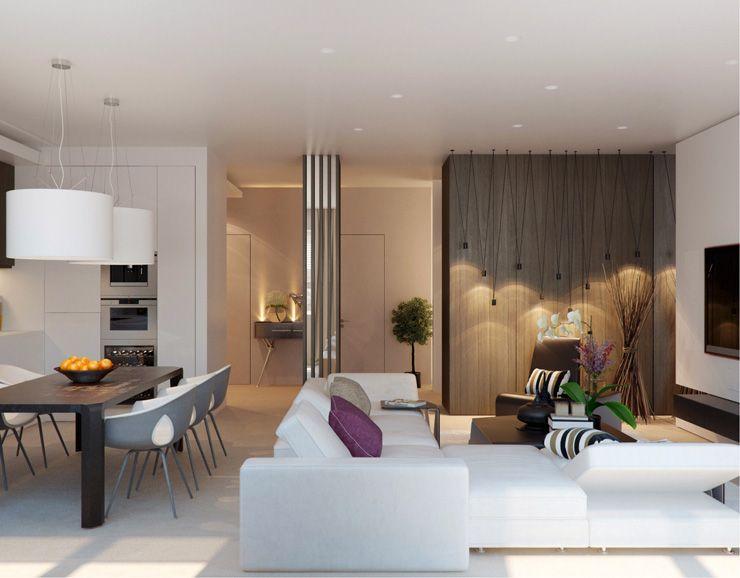 Wohnzimmer Cremeweiß ~ Wandfarbe cremeweiß gestaltungselemente und möbel in heller