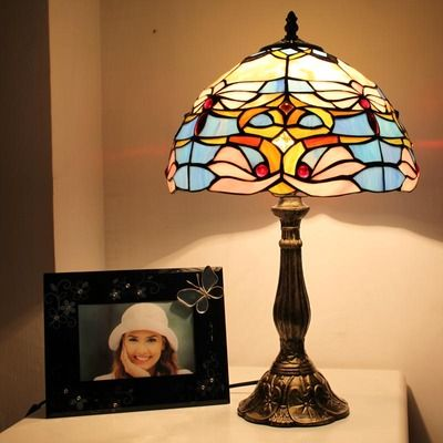 On The Beach Tiffany Bedside Lamp