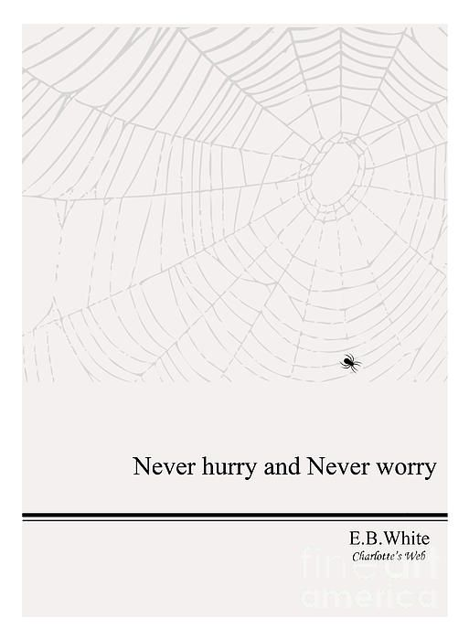 Charlotte's wisdom and why I love spiders now :)
