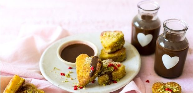 french toast madeira hearts with dark chocolate flavoured coffee recipe chocolate flavors madeira and chocolate