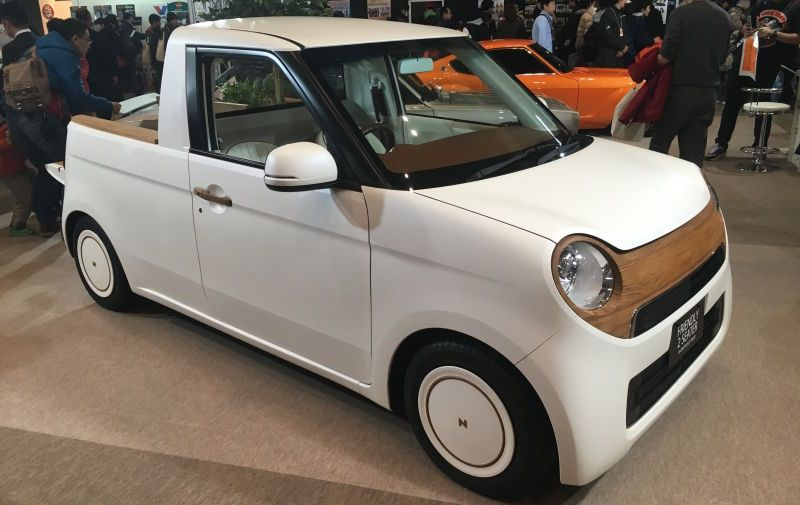 Honda N One Kei Mini Truck Concept Is Adorable Comes With Toy
