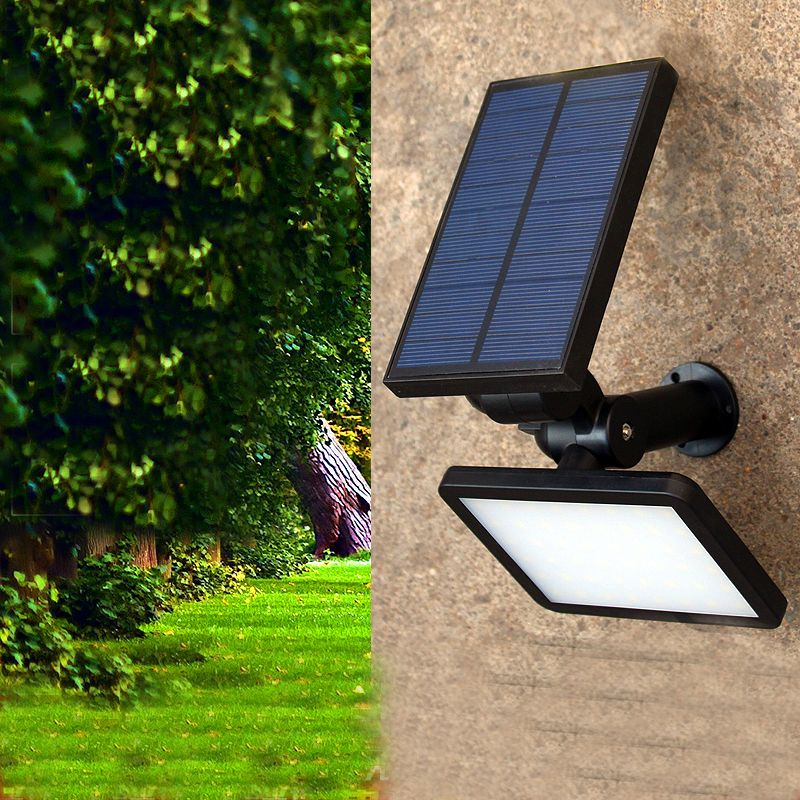 Solar Outdoor Lighting Wall Lamps Waterproof Light Lawm Lamp Brief Led Garden Exterior Lights Luminar Solar Panel Lights Outdoor Solar Lights Exterior Lighting