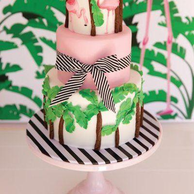 Design Crush Parker Kennedy Living Flamingo Cake Flamingo
