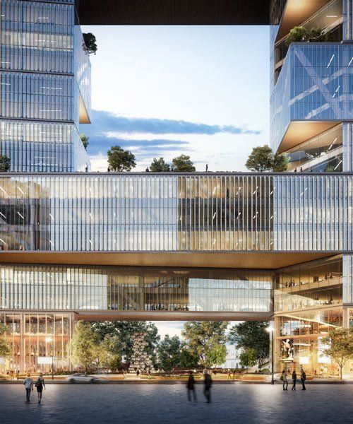 SOM to build 'catalinas rio', a buenos aires office complex