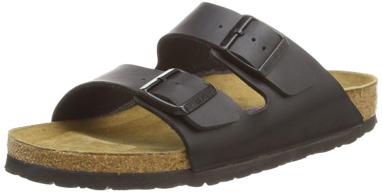 Birkenstock womens Arizona in Black from Birko-Flor Sandals 37.0 EU N -- Want to know more, visit the site now : Birkenstock sandals