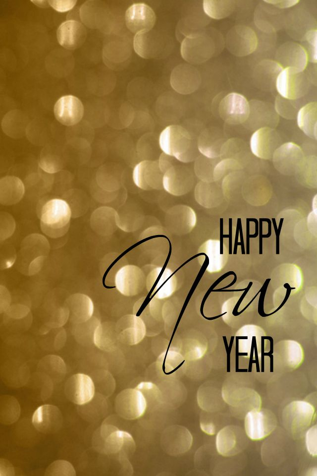 happy new year iphone 4 and 5 wallpaper at anightowlblog