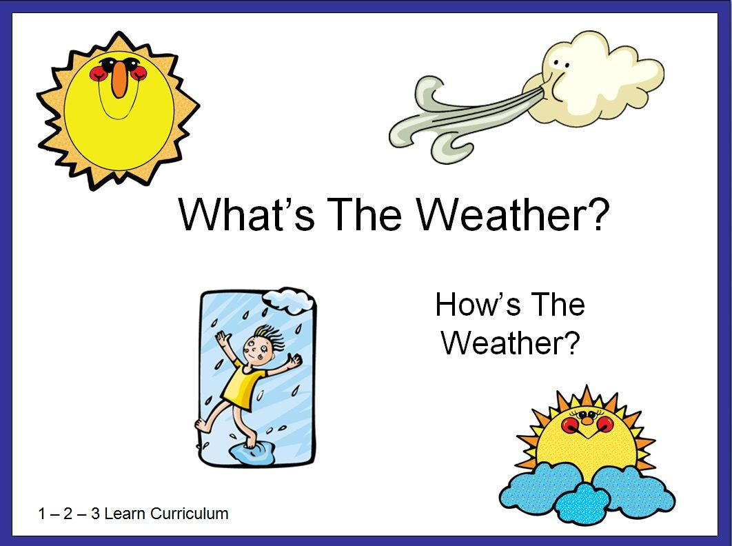 What S The Weather Power Point Free Download