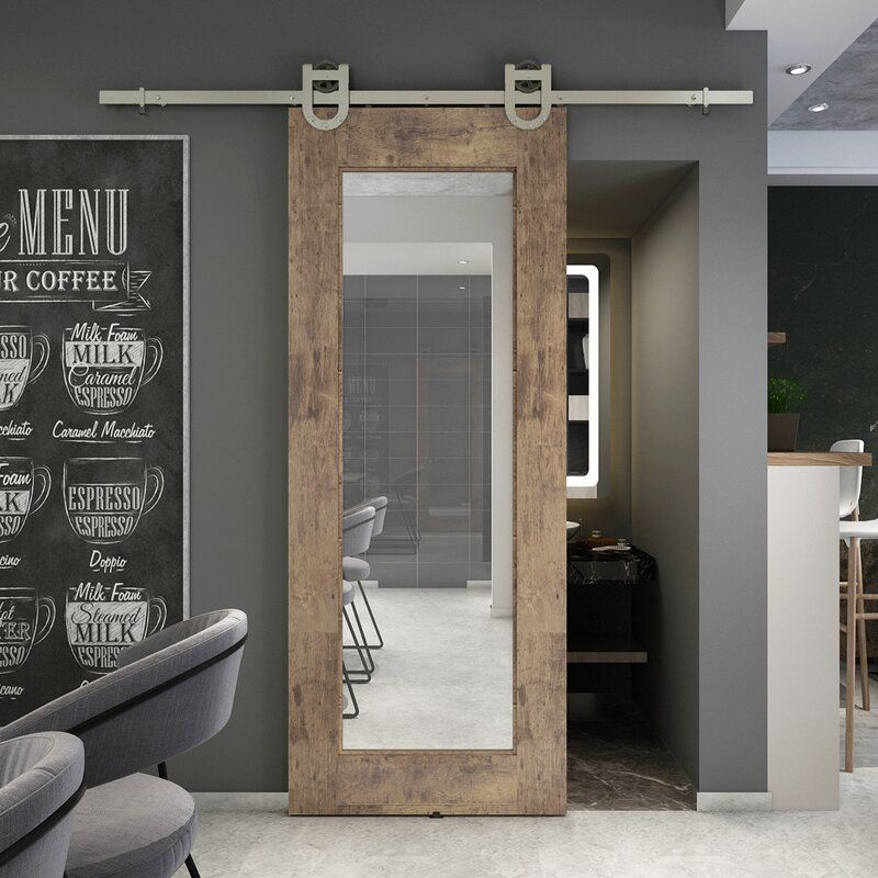 Barn Door Mirror