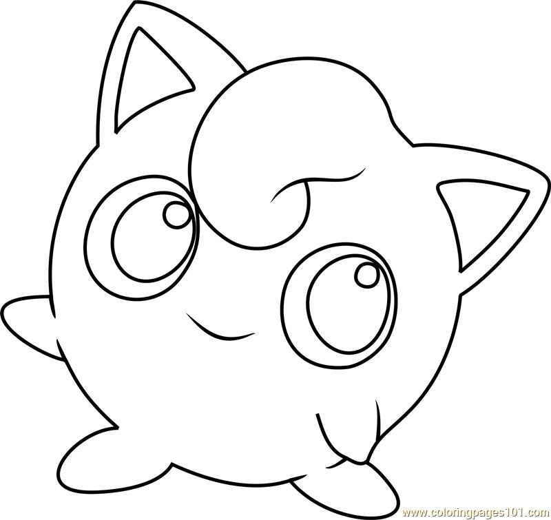 Jigglypuff Pokemon Coloring Pokemon Coloring Pages Pokemon Coloring Sheets
