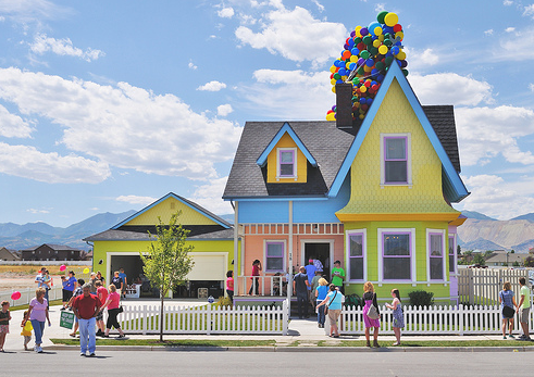 ♥ The Up House in Utah - cant figure out if you can visit this or not