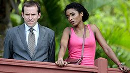 [TV Series] Sara Martins as Camille Bordey and Ben Miller as Richard Poole (Death in Paradise, 2011-...)