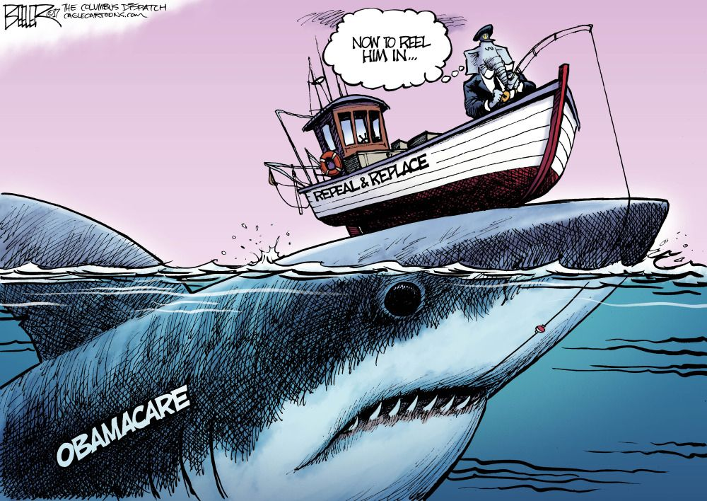 Image result for branco cartoons big government republicans failure to repeal obamacare
