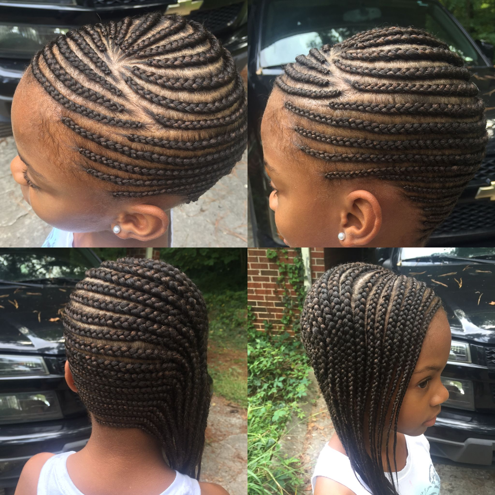 Cornrow Braids Styles Kids Hairstyles Black Beauty Braids Kids Kidshair Lemonadebraids Teamnatural Tribalbrai Hair Styles Braid Styles Kids Hairstyles
