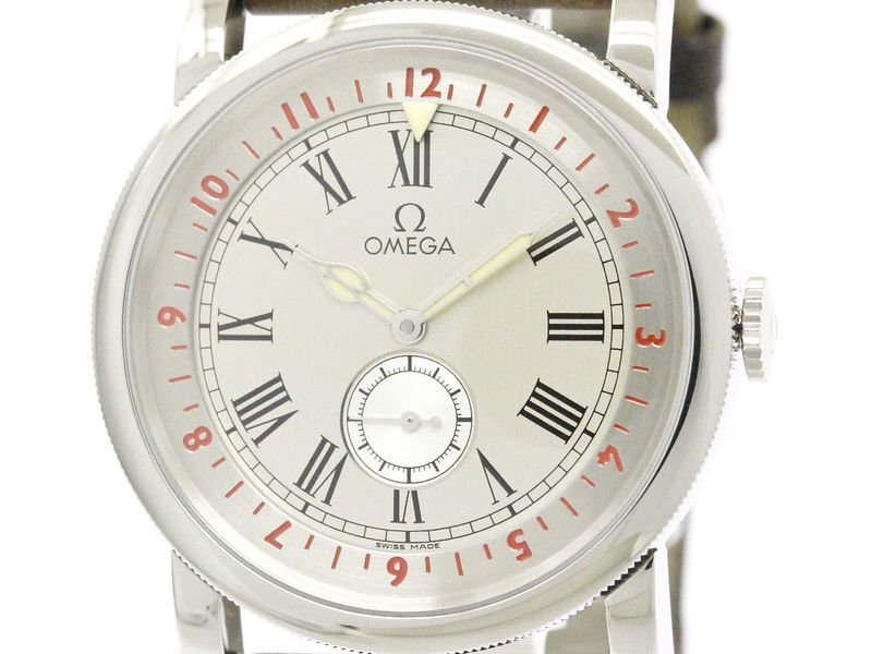 Polished OMEGA Pilot's Steel Automatic Mens Watch 516.13.41.10.02.001 (BF108963)