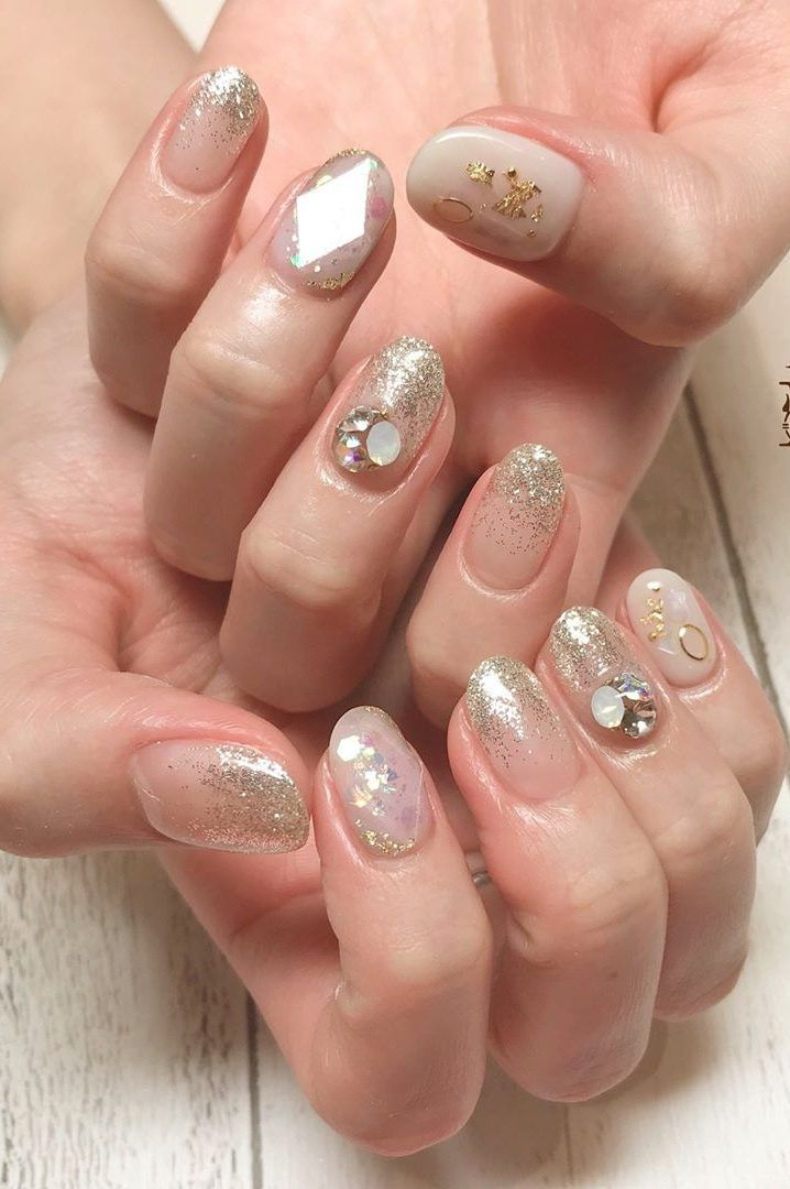43 Colorful Winter Nail Models And Care Page 12 Of 42 Winter
