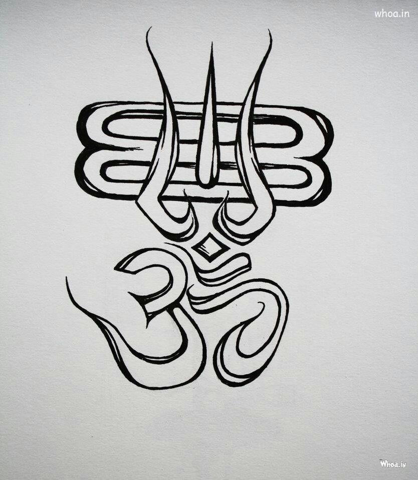 Aum And Shiva Lord Shiva Sketch Shiva Tattoo Design Shiva Lord